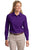 L608 Port Authority® - Ladies Long Sleeve Easy Care Shirt. - LogoShirtsWholesale                                                                                                       - 18