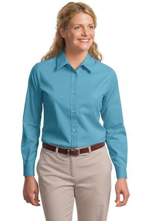 213e9a14 L608 Port Authority® - Ladies Long Sleeve Easy Care Shirt.