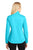 Port Authority® Ladies Active Soft Shell Jacket. L717 - LIGHT CYAN