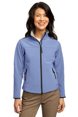 L790 Port Authority Signature® - Ladies Galcier Soft Shell Jacket - LogoShirtsWholesale                                                                                                       - 1