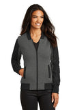 OGIOå¨ Ladies Crossbar Jacket. LOG506 - Black Heather