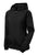 Sport-Tek® Ladies Colorblock Hooded Raglan Jacket. LST76 - BLACK