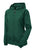Sport-Tek® Ladies Colorblock Hooded Raglan Jacket. LST76 -FOREST GREEN