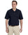 M265Prime Harriton Men's 5.6 oz. Easy Blend™ Polo -BLACK