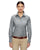 Harriton M600W Women's Long Sleeve - Oxford Grey