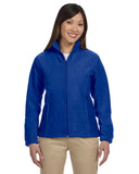 M990W Harriton Ladies' 8 oz. Full-Zip Fleece - ROYAL