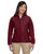 M990W Harriton Ladies' 8 oz. Full-Zip Fleece - WINE