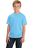 Port & Company® - Youth 5.4-oz 100% Cotton T-Shirt. PC54Y. - LogoShirtsWholesale                                                                                                       - 1