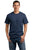 Port & Company® - Core Cotton Tee. PC54 - HEATHER NAVY