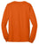 Port & Company® - Long Sleeve 50/50 Cotton/Poly T-Shirt. PC55LS- Safety Colors - LogoShirtsWholesale                                                                                                       - 8