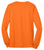Port & Company® - Long Sleeve 50/50 Cotton/Poly T-Shirt. PC55LS- Safety Colors - LogoShirtsWholesale                                                                                                       - 6