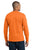Port & Company® - Long Sleeve 50/50 Cotton/Poly T-Shirt. PC55LS- Safety Colors - LogoShirtsWholesale                                                                                                       - 5