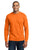 Port & Company® - Long Sleeve 50/50 Cotton/Poly T-Shirt. PC55LS- Safety Colors - LogoShirtsWholesale                                                                                                       - 2