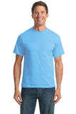 Port & Company® - 50/50 Cotton/Poly T-Shirt. PC55. - LogoShirtsWholesale                                                                                                       - 1