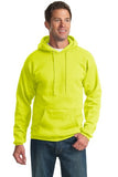 Port & Company® - Ultimate Pullover Hooded Sweatshirt. PC90H - Safety Colors - LogoShirtsWholesale                                                                                                       - 1