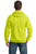 Port & Company® - Ultimate Pullover Hooded Sweatshirt. PC90H - Safety Colors - LogoShirtsWholesale                                                                                                       - 3