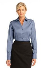 Red House - Ladies French Cuff Non-Iron Pinpoint Oxford. RH63 - LogoShirtsWholesale                                                                                                       - 1