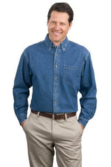 Port Authority® Heavyweight Denim Shirt. S100 - LogoShirtsWholesale
