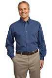 Port Authority® Tonal Pattern Easy Care Shirt. S613 - LogoShirtsWholesale                                                                                                       - 1
