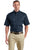 CornerStone® - Short Sleeve SuperPro Twill Shirt. SP18. - LogoShirtsWholesale                                                                                                       - 6