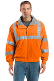 Port Authority® Enhanced Visibility Challenger™ Jacket with Reflective Taping. SRJ754 - LogoShirtsWholesale                                                                                                       - 1
