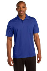 Sport-Tek® Micropique Sport-Wick® Pocket Polo. ST651 - Royal Blue