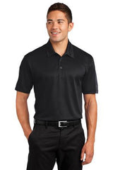 Sport-Tek® Active Textured Colorblock Polo. ST695. - LogoShirtsWholesale                                                                                                       - 1