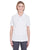 U8315L UltraClub Ladies' Platinum Performance Piqué Polo - WHITE