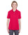 U8315L UltraClub Ladies' Platinum Performance Piqué Polo - RED