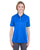 U8315L UltraClub Ladies' Platinum Performance Piqué Polo - ROYAL