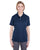 U8315L UltraClub Ladies' Platinum Performance Piqué Polo - NAVY
