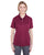 U8315L UltraClub Ladies' Platinum Performance Piqué Polo - MAROON