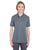 U8315L UltraClub Ladies' Platinum Performance Piqué Polo - CHARCOAL