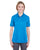U8315L UltraClub Ladies' Platinum Performance Piqué Polo - OCEAN BLUE
