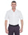 U8315 UltraClub Men's Platinum Performance Piqué Polo - WHITE