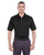 U8315 UltraClub Men's Platinum Performance Piqué Polo - BLACK