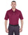 U8315 UltraClub Men's Platinum Performance Piqué Polo - MAROON