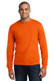 Port & Company® - Long Sleeve All-American Tee. USA100LS - LogoShirtsWholesale                                                                                                       - 1