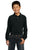 Y320 Port Authority® - Youth Long Sleeve Pique Knit Shirt - LogoShirtsWholesale                                                                                                       - 7