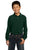 Y320 Port Authority® - Youth Long Sleeve Pique Knit Shirt - LogoShirtsWholesale                                                                                                       - 6