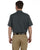 LS535 Dickies Men's 4.25 oz. Industrial Short-Sleeve Work Shirt - GRAPHITE