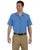LS535 Dickies Men's 4.25 oz. Industrial Short-Sleeve Work Shirt - LIGHT BLUE
