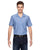 LS535 Dickies Men's 4.25 oz. Industrial Short-Sleeve Work Shirt - BLUE/WHITE