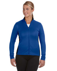 S260 Champion Performance Ladies' 5.4 oz. Colorblock Full-Zip Jacket - Royal