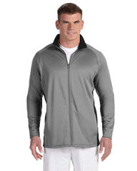 S270 Champion 5.4 oz. Performance Colorblock Full-Zip Jacket - LogoShirtsWholesale                                                                                                       - 1