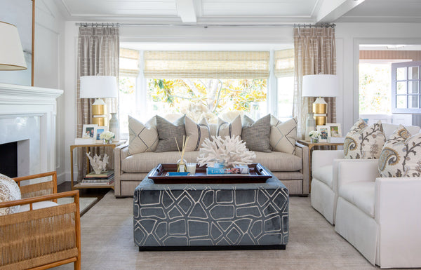 INTRODUCING SAGAMORE, BARCLAY BUTERA'S 4TH FABRIC COLLECTION WITH KRAVET