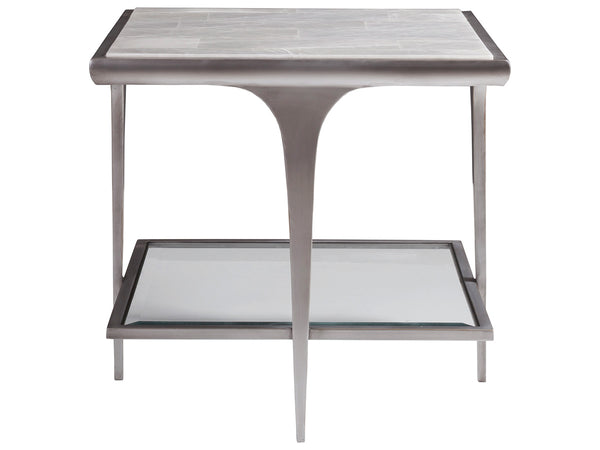 Zephyr Square End Table