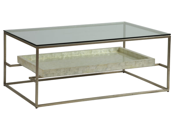 Cumulus Capiz Rectangular Cocktail Table