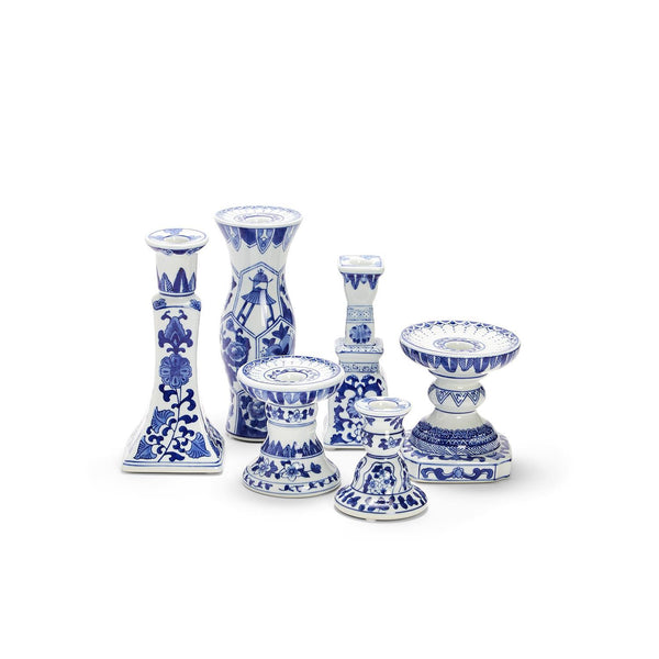 Canton Collection Candleholders, Set of 6