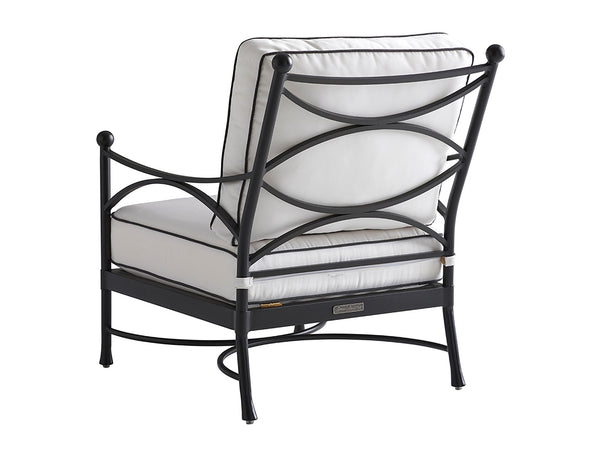 Pavlova Lounge Chair in White